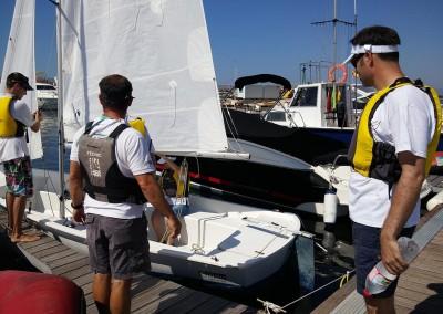 teambulding veleros