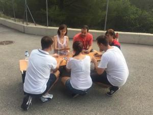 Teambuilding trabajo en equipo