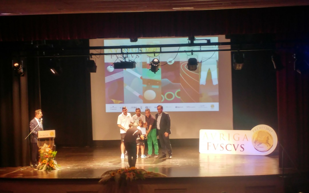 "Premios ""AURIGA FVSCVS"" 2017"