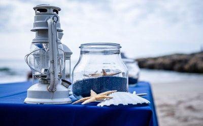 El mar, como telón de fondo_ Cómo organizar un evento en la playa